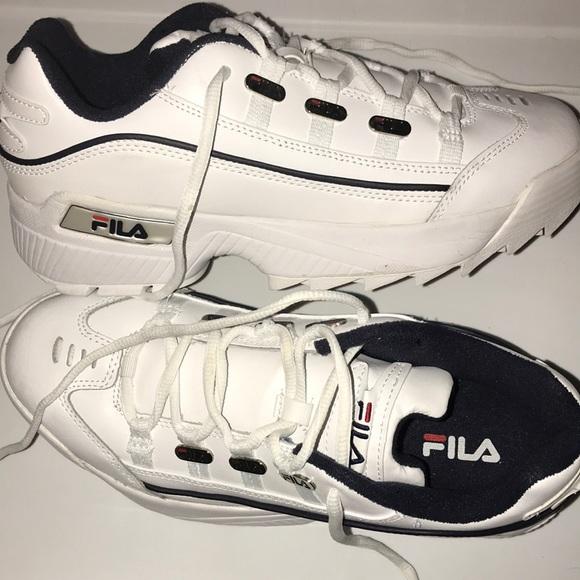 FILA VINTAGE DISRUPTOR II RETRO 90s WHITE SZ 13 Boutique